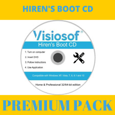 Hiren's Boot CD Bootable PC Repair Software for Windows 10 8 7 XP VISTA