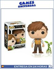 Pop Funko Fantastic Beasts Newt Scamander And Pickett  Hot Topic Exclusive