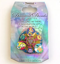 Disneyland Park 60th Diamond Decades LE 5000 Alice Teacups Disney Pin on Card