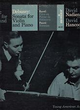 FRANCK-SONATA FOR VIOLIN-PIANO + DEBUSSY-DAVID NADIEN-D. HANCOCK RARE MONITOR VG