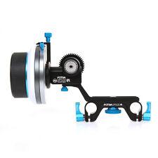 FOTGA DP500 Mark III A/B Hard Stop Follow Focus for 15mm Rod Rig DSLR Camera US