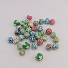 120pcs 19692 Different Color Fimo Round Beads Bracelet Handmade Jewelry Making