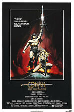 24X36Inch Art CONAN THE BARBARIAN Movie POSTER Arnold Shwarzenegger P46