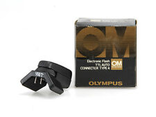OLYMPUS OM ELECTRONIC FLASH TTL AUTO CONNECT.TYPE 4 NUOVO/NEW RARO