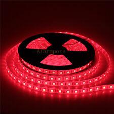 24V 10M/Roll 60Leds/M 5050 LED Strip Ribbon Light 600 LED Light Red Waterproof