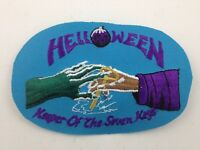 Helloween Embroidered Patch ~Keeper Of 7 Keys