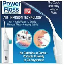 Power Floss Oral Irrigator Dental Water Jet Air Power Teeth SPA Cleaner Whitenin
