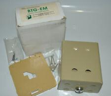 Beko Btg Em Elite Metal Thermostat Guard Lock Withkey Beige 4 12 X 4 34 New