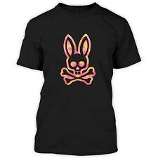 Psycho Bunny Mozaic Polo Shirts Clothing Apparel Black T-Shirt Black S-5XL