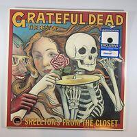 THE BEST OF GRATEFUL DEAD/WALMART EXCLUSIVE LIMITED EDITION BONE COLOR LP VINYL