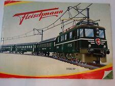 Fleischmann Katalog 1958/59 guter Zustand