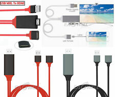 USB MHL To HDMI 1080P TV Adapter Cable HD For iPad Air /Air 2/Mini 1234 /Pro 9.7