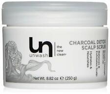 Unwash Charcoal Detox Scalp Scrub, 8.82 oz~Fast Shipping