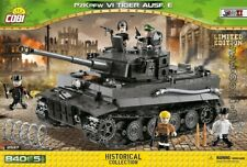 COBI PzKpfw VI Tiger I Ausf / 2537 ) 840 blocks WWII German tank Limited Edition