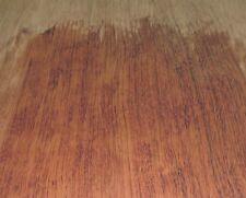 "Bubinga African wood veneer 5"" x 16"" raw no backing 1/42"" thickness ""A"" grade"