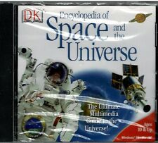 DK Multimedia Encyclopedia of Space and the Universe Pc New XP