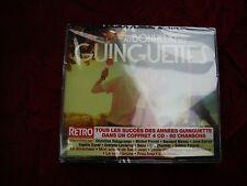 CD RETRO AU BONHEUR DES GUINGUETTES COFFRET 4 CD 60 CHANSONS NEUF EMBALLE