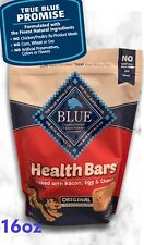 Blue Buffalo Health Bars with Bacon Egg & Cheese Natural Dog Treat Biscuits