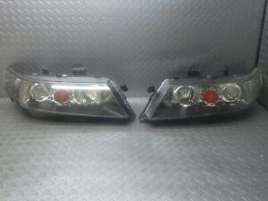 JDM 2003 Honda Accord CM2 CL7 HID Headlights Lights Lamps Set OEM