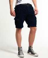 New Mens Superdry New Core Cargo Heavy Short Deep Navy