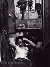 1932/68 Vintage SLEEPING MAN FOLIES BERGERE Cabaret Paris France ~ BRASSAI 8x10