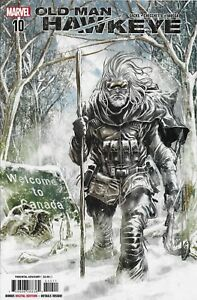 Old Man Hawkeye Comic 10 Cover A First Print 2018 Ethan Sacks Checchetto 2018 .