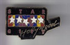 RARE PINS PIN'S .. CINEMA FILM MOVIE STUDIO USA STAR CITY TOUR HOLLYWOOD ~DI