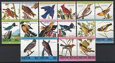 Nevis 1985, Birds set 16v, 8 pairs, Sc 407-14 MNH