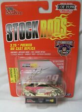 RACING CHAMPIONS STOCK RODS 1/64 JEFF BURTON #99 1937 FORD COUPE 1998 DIECAST