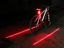 Super Bright Rechargeable LED Bike Tail Light Bicycle Taillight Laser Flashing