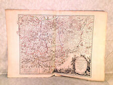 Robert De Vaugondy 1752 Map of Duche De Brabant Meridional from 1752 Atlas?