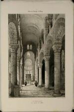 Intérieur d'Eglise à St-Nectaire, Auvergne et le Velay