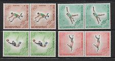 J.O de Mexico 1968 Royaume du Laos 8 timbres neufs /T658
