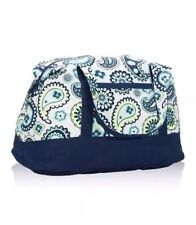 Thirty One Retro Metro Weekender Bag Tote PAISLEY DAY  New in Package