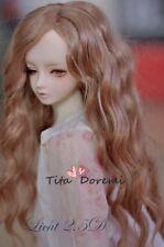 1 3 8-9 Bjd Perücke SD DD Pullip Dal Supper Dollfie Doll Perücken lang weiß Steiff