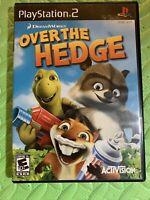 DREAMWORKS Over the Hedge Sony PlayStation 2 PS2 COMPLETE Tested CIB FREE Ship