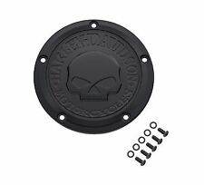 Harley Davidson Black Willie G Skull Derby Cover 25700742