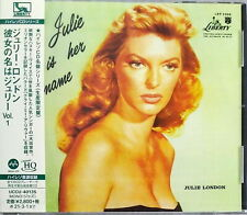 JULIE LONDON-JULIE IS HER NAME-JAPAN UHQCD Ltd/Ed G35
