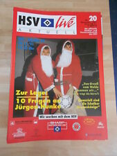 HSV Live Aktuell Hamburger SV  Nr.20 vom November 1990 gegen Schalke 04