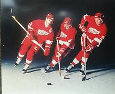NEW Production line 16z20 Detroit Red Wings  Steve Yzerman Sergie Fedorov Prober