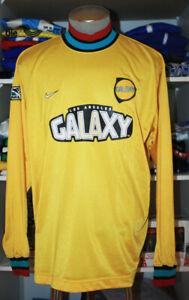 VTG NIKE LA GALAXY LOS ANGELES MLS CAMPOS SOCCER JERSEY FOOTBALL SHIRT MEXICO L