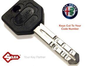 ALFA ROMEO High Security Dimple Keys Cut To Code Number-Giobert-Worldwide Post