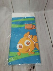 "Disney Pixar Finding Nemo Rectangular Plastic Table Cover Hallmark 54"" X 90"" NOS"
