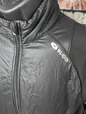 Sugoi Alpha Hybrid Women's Jacket Medium Black Cycling Bike Cold Winter PolarTec