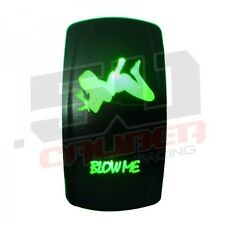Polaris RZR On/Off Rocker Switch Green Blow Me XP900 800 570 RZR4 Crew UTV Range