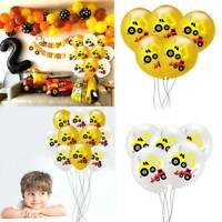 12 Inch Digging Machine Latex Balloon Engineering Car Theme Birthday Party Decor
