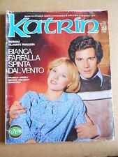 KATRIN Fotoromanzo n°40 1978 ed. Condor    [G580]