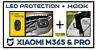Xiaomi M365 & PRO Led Protection + Crochet pour sac Hook Accessoire Trottinette