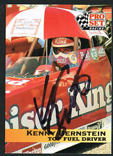 Kenny Bernstein #32 signed autograph auto 1992 Pro Set NHRA Trading Card
