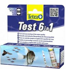 Tetra 6 in 1 Quick Test For Freshwater Aquariums Fish Tanks - 25 Test Strips